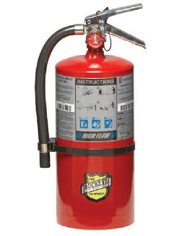 Fire Extinguishers Chase Fire
