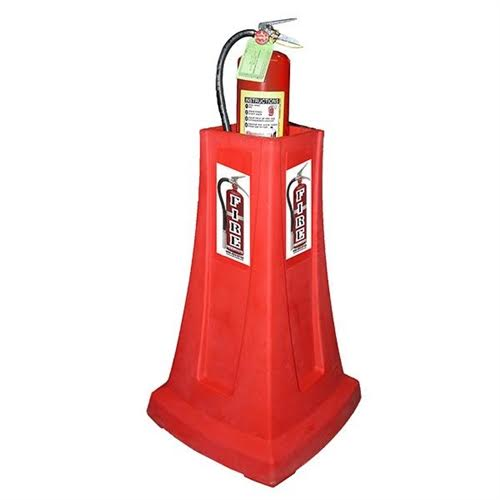 Fire extinguisher covers amp stands chase fire